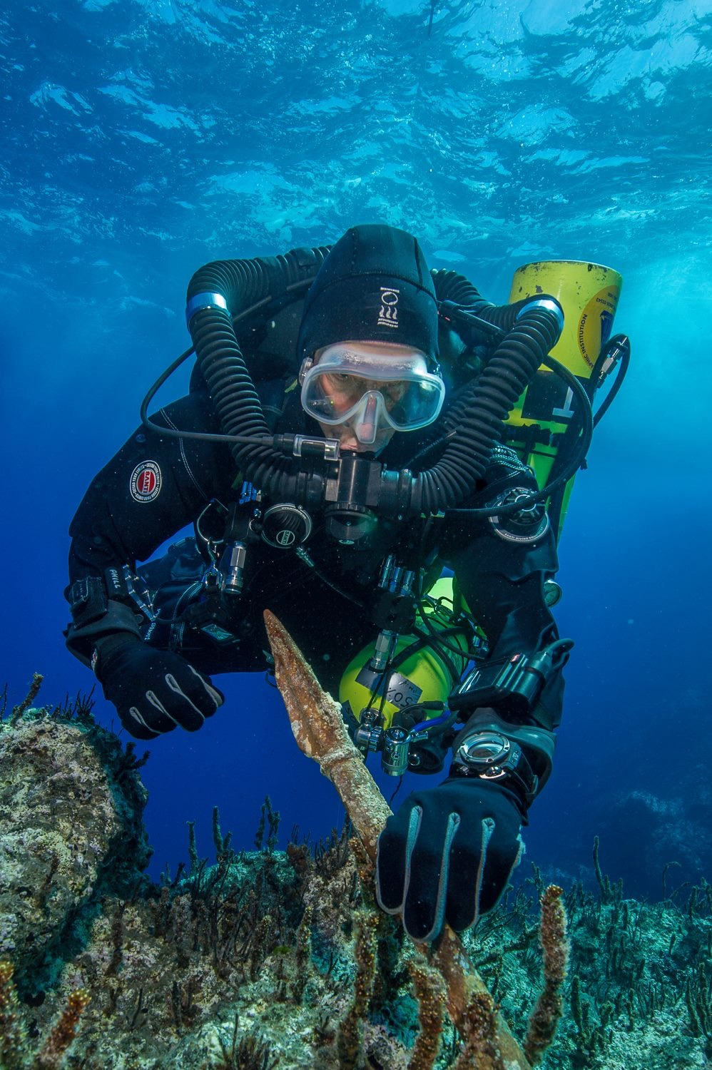 Bronze Statue Spear recovered at Antikythera shipwreck